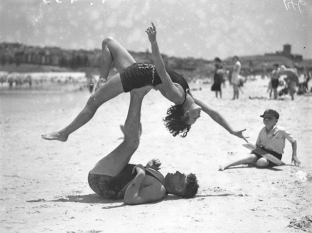 backflying in the 30s